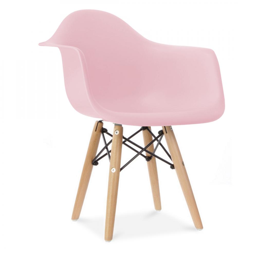 Iconic Designs Kids Pastel Pink DAW Chair Pink kids Charles