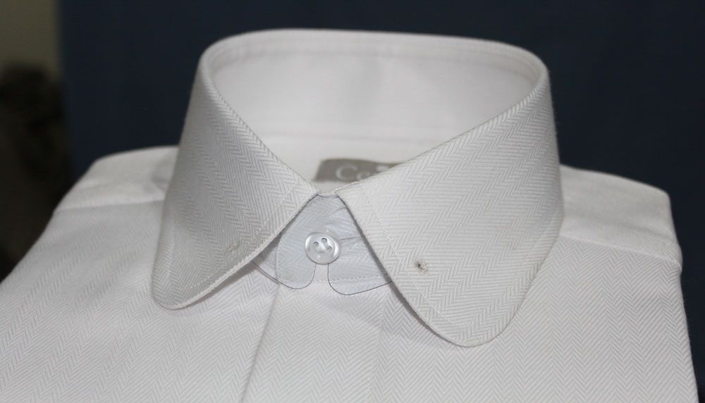 04429adeafad Round collar shirt with pin holes #roundcollarshirt #pincollarshirt  #customdressshirts #shirts