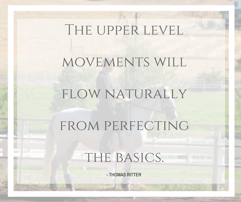 """The upper level movements will flow naturally from perfecting the basics."" - Thomas Ritter  Have you joined our newsletter? http://eepurl.com/bYdIm5"