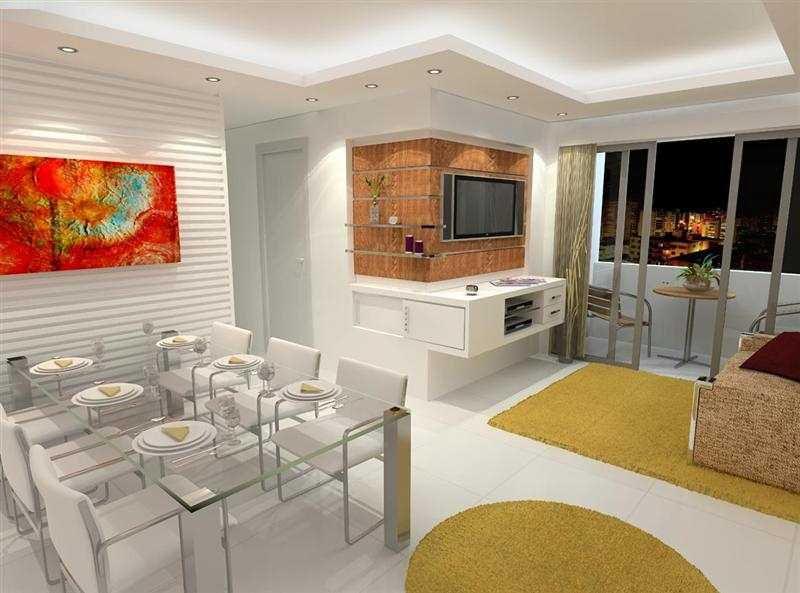 Sanca de gesso acartonado ba os y cocinas pinterest for Cocinas para apartamentos pequenos