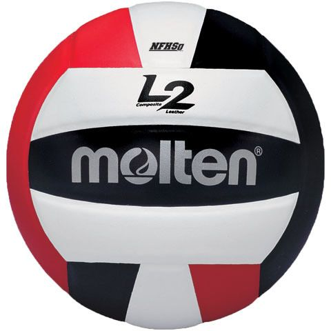Molten Volleyball L2 Volleyball Black Red Molten Usa Molten Volleyball Indoor Volleyball Volleyball