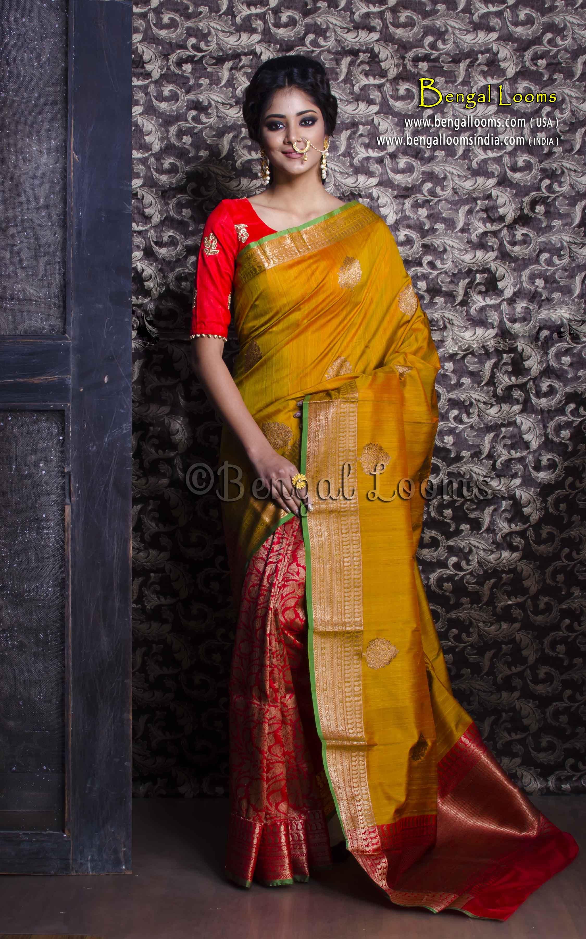Latest Designer Party Wear Saree Indian Banarasi Silk Saree kanchipuram Sari 191