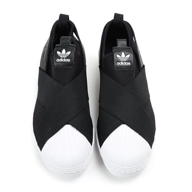 adidas slip on nere