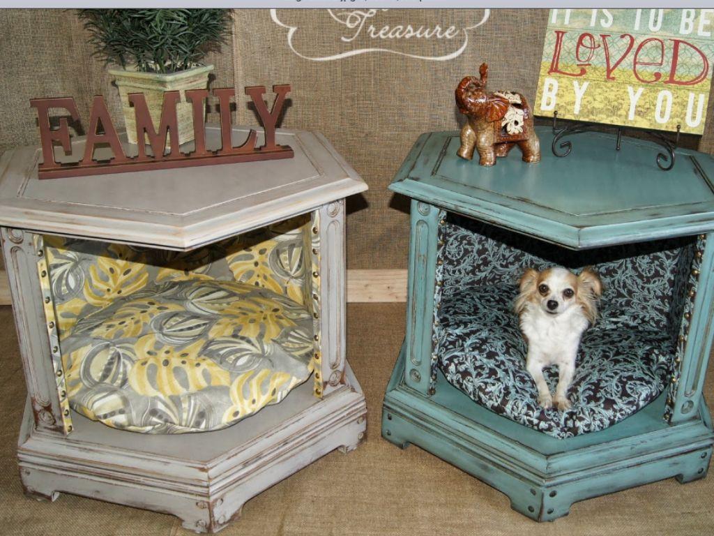 Dog bed Animals Diy dog bed, Diy end tables, End table