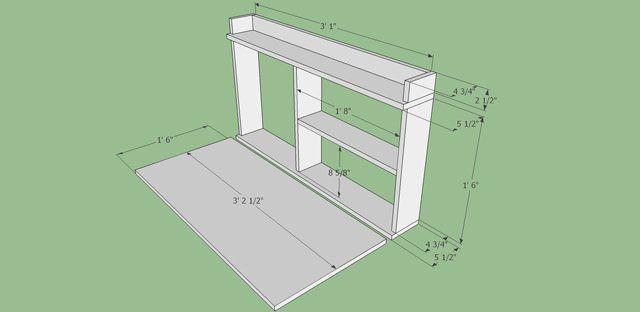 Fabriquer Une Armoire Murale Et Table Rabattable Balcon Diy Fabriquer Une Armoire Armoire Murale Buffet En Plein Air