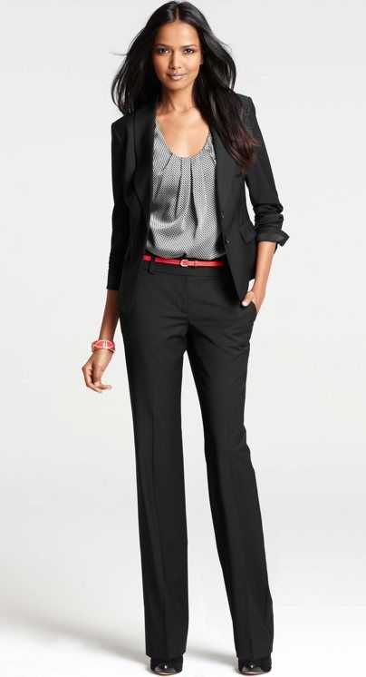 7ac9c5020b6 ... Office Pants Suit. Women s Business Professional for Career Exploration  Day. Ann Taylor - 287842WWB - Tropical Wool Shawl Collar Lindbergh Jacket
