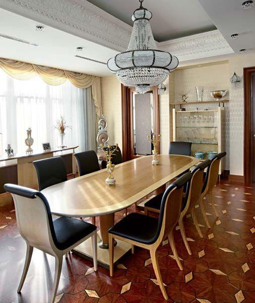Arabic Decor Motifs in Modern Interior Design, Luxurious Penthouse ...
