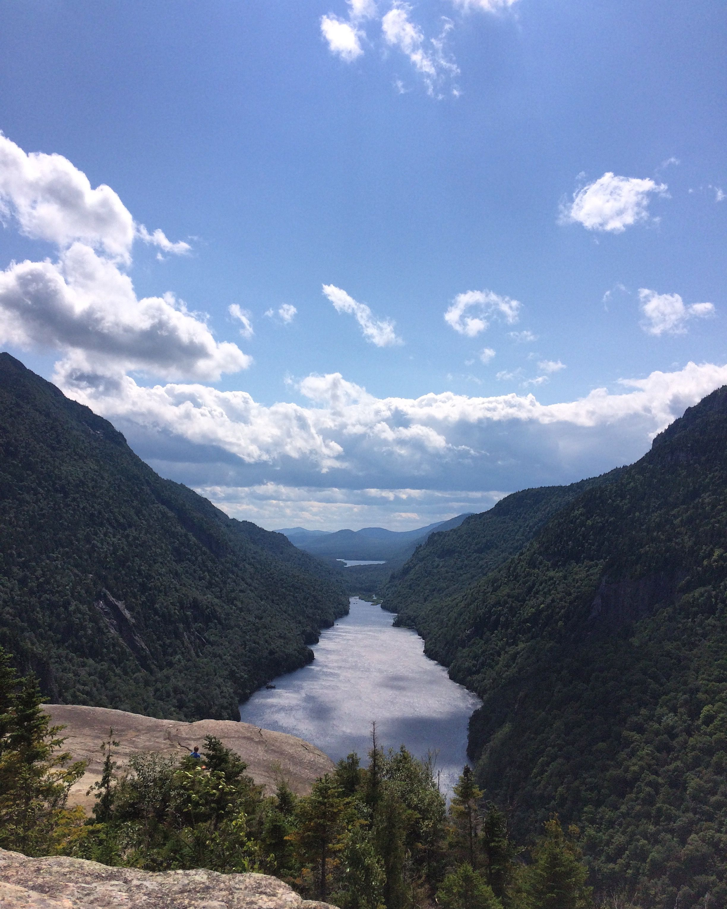 Hiking Chimney Mountain - Indian Lake, NY in the