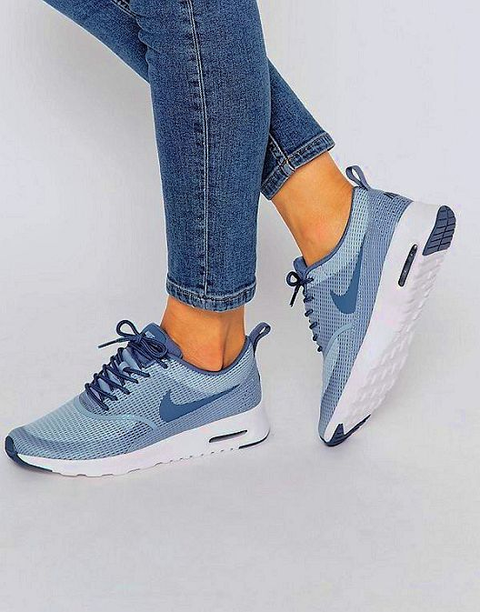 Outlet Online Nike Air Max Thea Junior Purple Sneakers