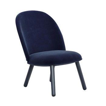 Normann Copenhagen Ace Lounge Chair Velour Beige Gestell Buche Gebeizt H X B X T 80 X 56 X 70cm Stuhle Lounge Chair Lounge