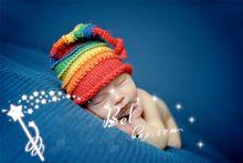 Chand Gebreide Wollen Muts Kind Fotografiepasgeboren Baby Wollen