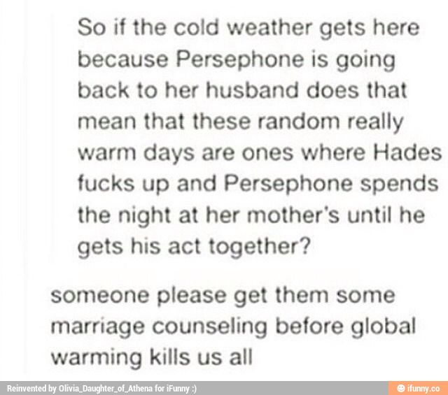 Persephone memes. Best Collection of funny Persephone pictures on iFunny