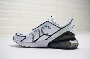 the best attitude 4518e 44b84 Mens Womens Sneakers Nike Air Max 270 Premium Flyknit White Black AH8060-100