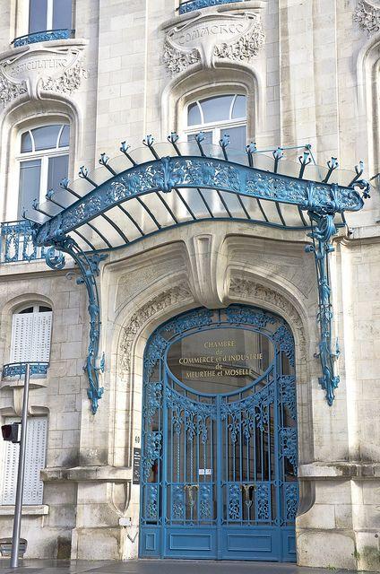 Nancy Chambre De Commerce Et D Industrie 3 Art Nouveau Architecture Beautiful Architecture Beautiful Doors