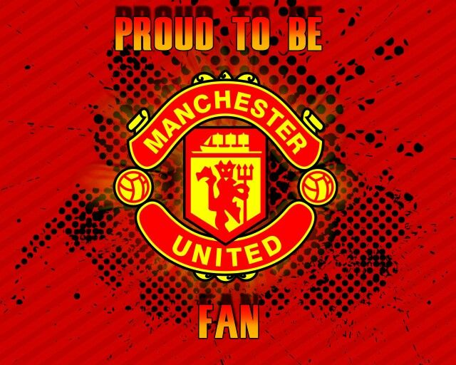 Proud To Be A Manu Fan Manchester United Wallpaper Manchester United Logo Manchester United