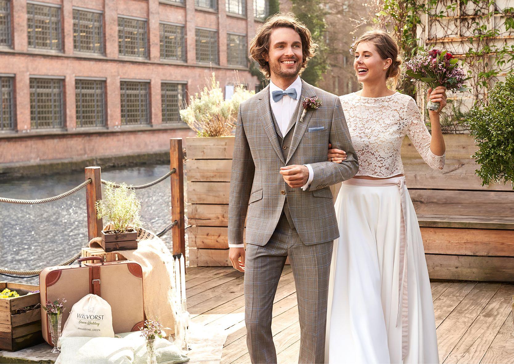 Hochzeitsanzug Green Wedding 2020.1 Look 4 | Kleid hochzeit