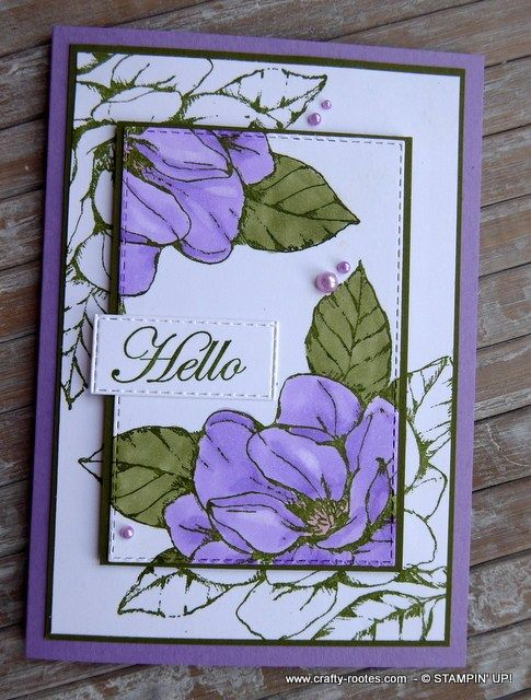 Purple Magnolia Anyone - Crafty-rootes