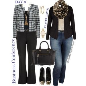 business conference iii for @june-miracle | plus size fashİon