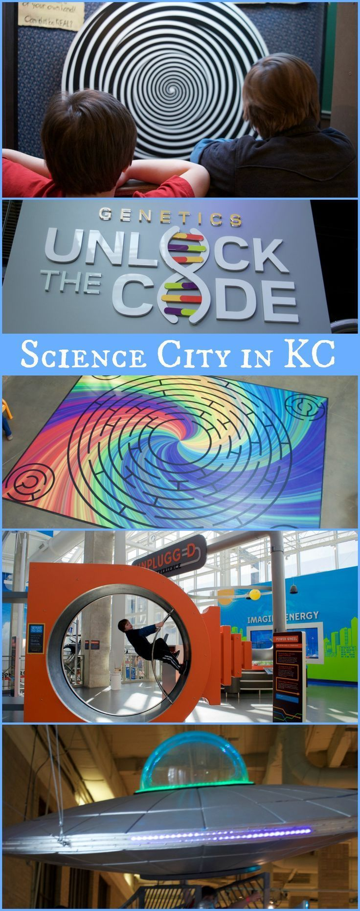 Awesome Science City in Grand Union Station is one of the BEST science centers in the US ...