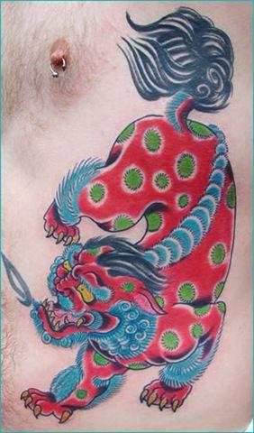 Foo Dog Nice Tattoo Foo Dog Tattoo Design Foo Dog Tattoo Dog Tattoos