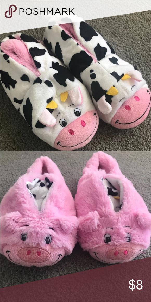 96bbfaee6bea9 Flipazoo Pig and cow flipazoo Shoes Slippers. Flipazoo Pig and cow flipazoo Shoes  Slippers Cow