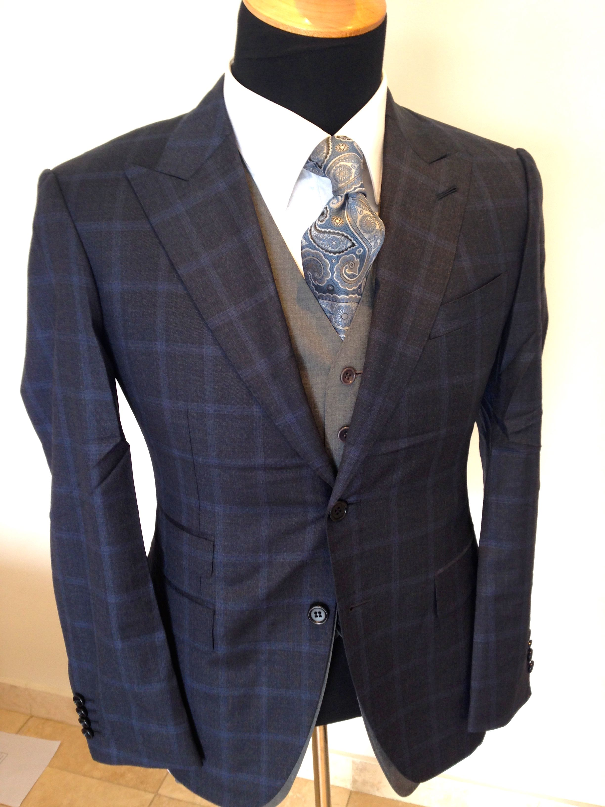 ee7082eb3849 Minister Malusi Gigaba in Navy Checked Suit. | Things to Wear | Navy ...