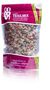 Luomu Trail Mix 230g, CocoVi | Luomutar.fi