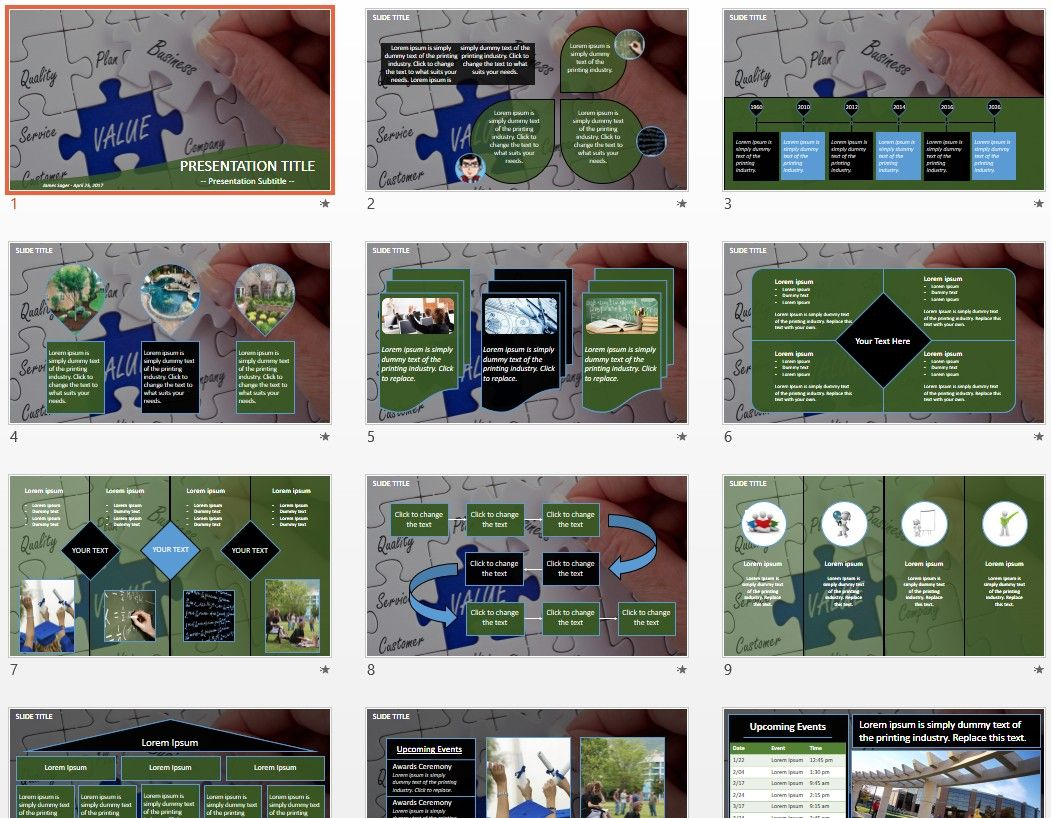 Business value powerpoint by sagefox free powerpoint templates by business value powerpoint by sagefox toneelgroepblik Image collections