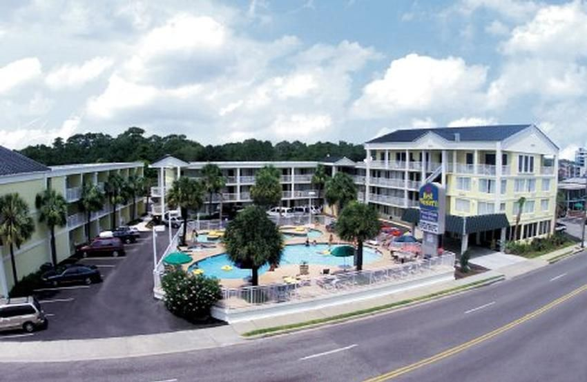 The Best Western Plus Grand Strand Inn And Suites Are Situated In Heart Of Myrtle