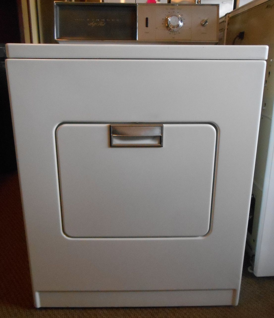 Appliance City Sears Kenmore Vintage Electric Dryer Automatic Permanent Care Rebuilt Has New Rollers Idler Belt A