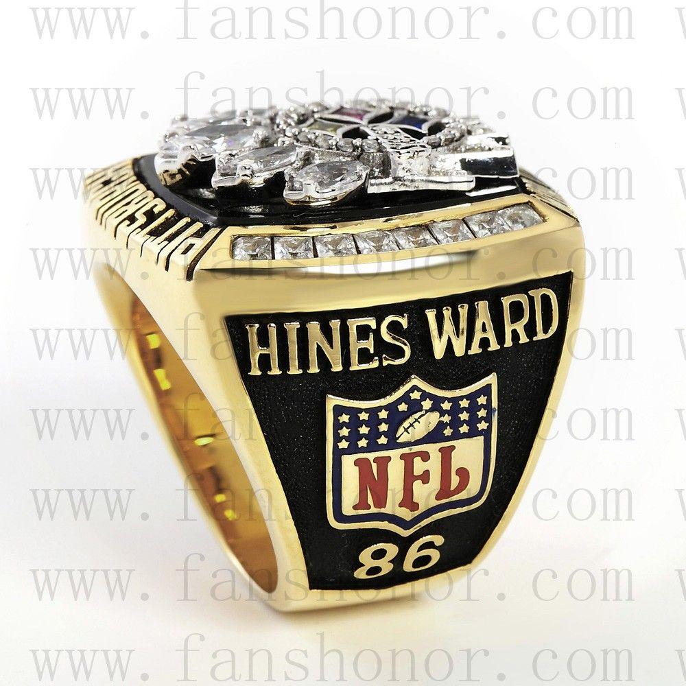 Custom NFL 2005 Super Bowl XL Pittsburgh Steelers