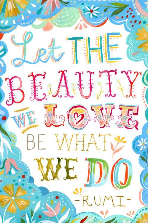 Golden Rule Must Do Love What You Do Woorden Mooie Woorden Inspirerende Woorden