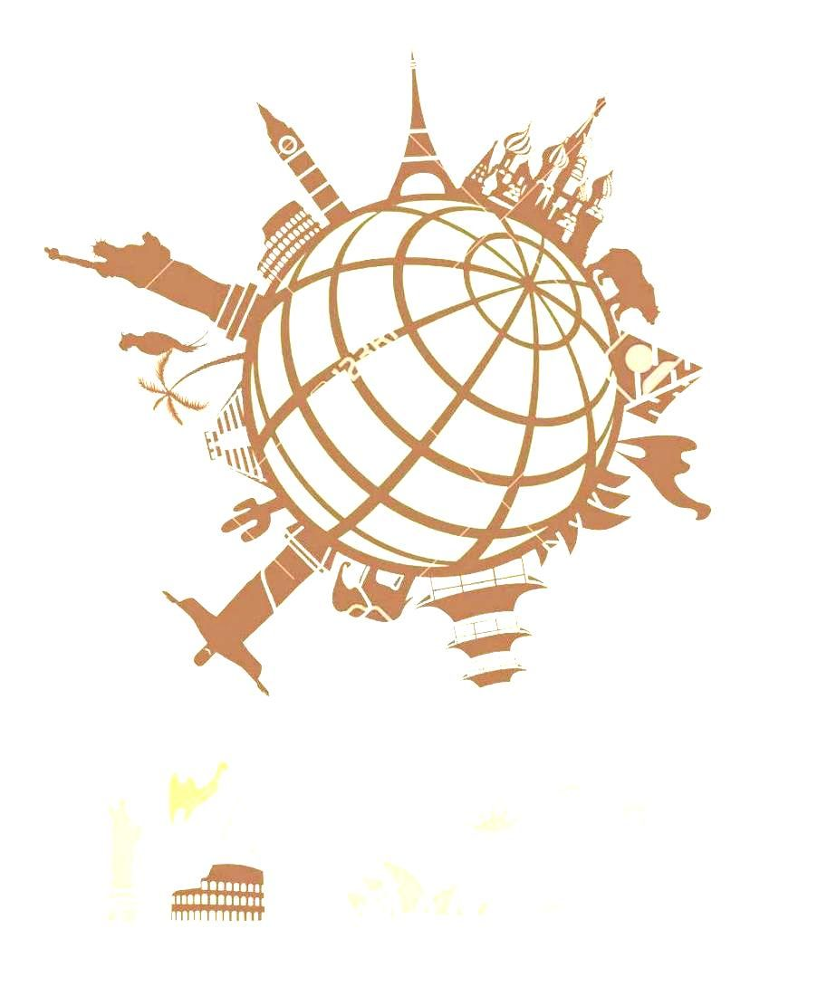 World Free Landmark Around Landmarks And Vector International Travel Stock Vintage Cliparts Royalty The Globe Clipart