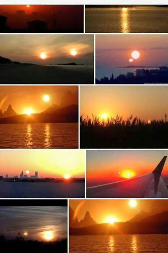 The Miracle Has Happened Today Usa And Canada Saw Two Suns This
