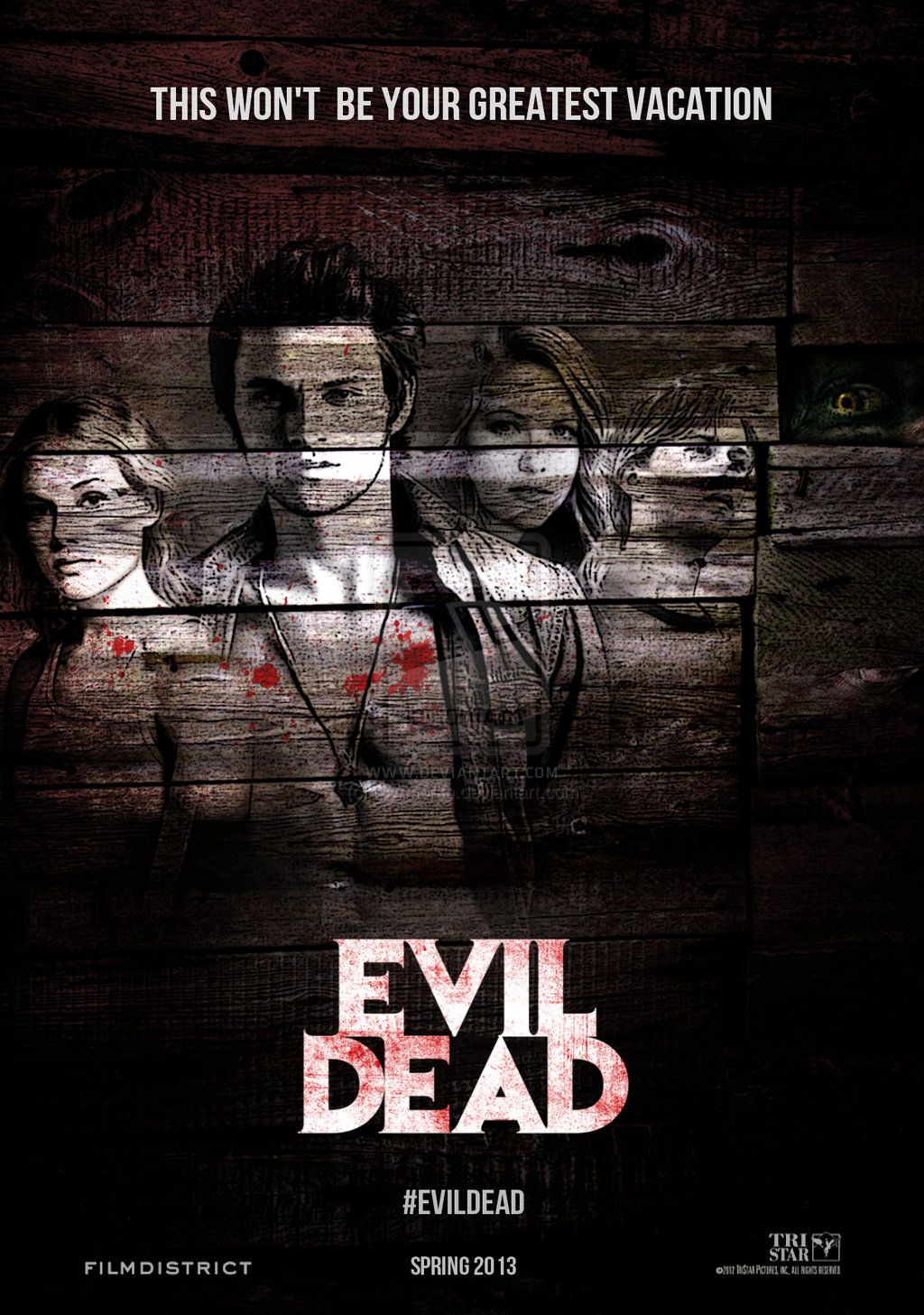 Evil Dead, is in fact, the most terrifying film you will
