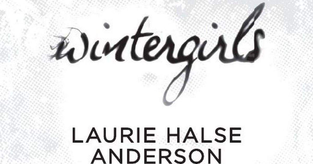 Anderson wintergirls halse pdf laurie by
