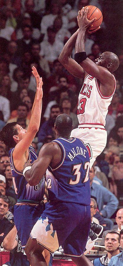 554640fde8f Michael Jordan vs Karl Malone and John Stockton   His airness   Karl ...