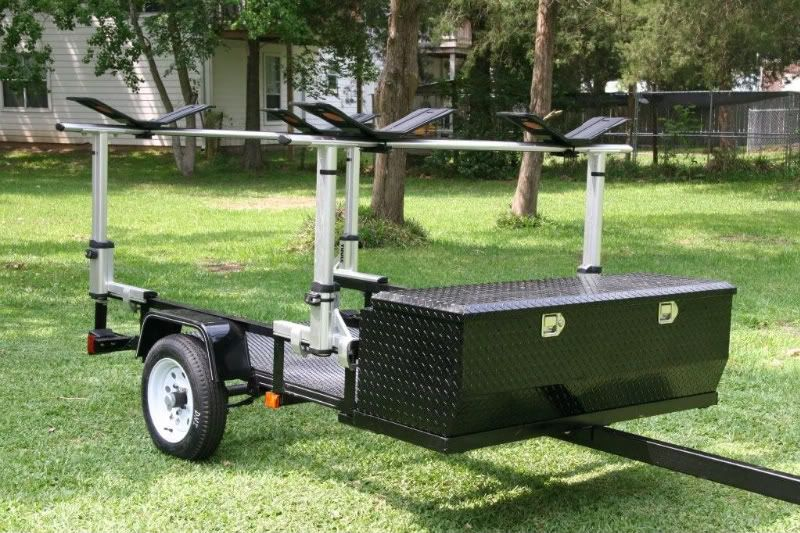 Homemade Kayak Trailers Google Search Trailer Project