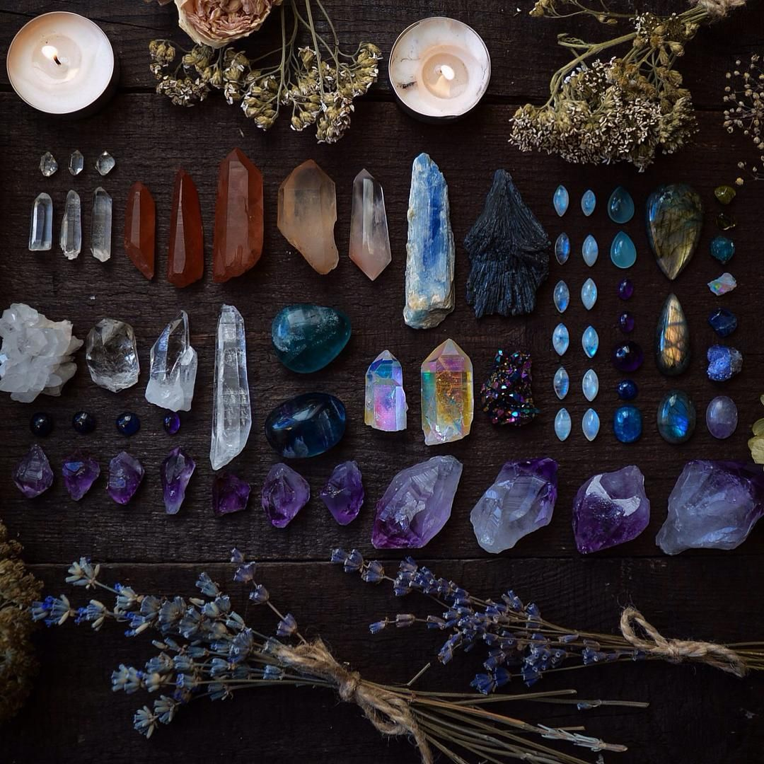 Silverwitch Witch Aesthetic Crystals Crystal Magic