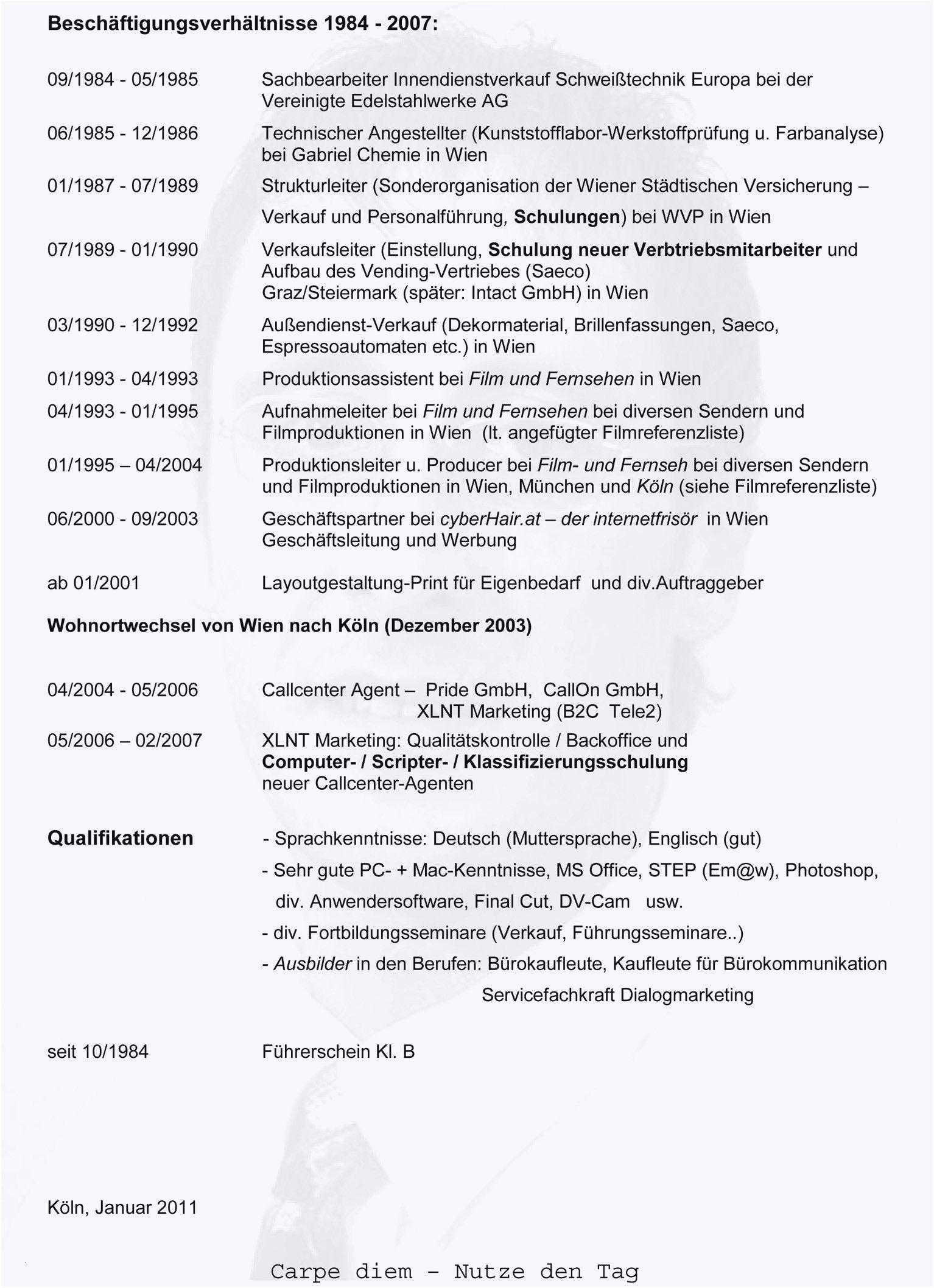 Einzigartig Ausformulierter Lebenslauf Briefprobe Briefformat Briefvorlage Lebenslauf Lebenslauf Muster Lebenslauf Beispiele