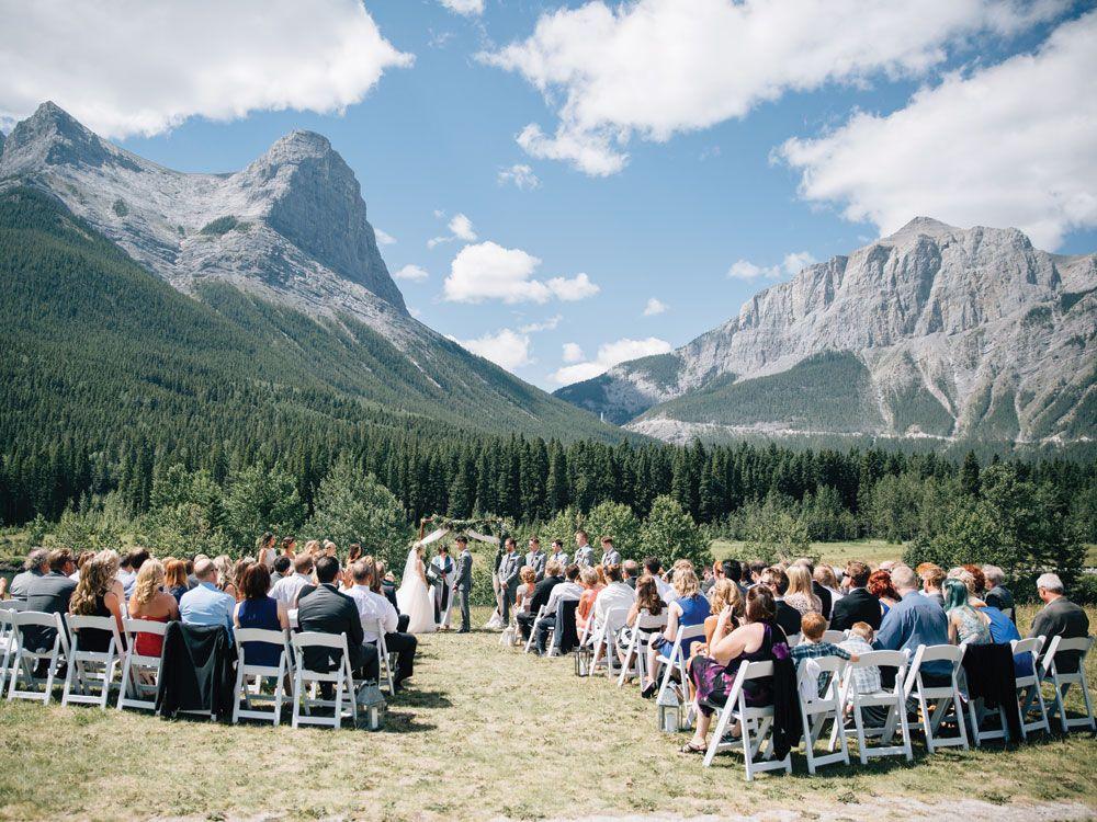 A Romantic Rocky Mountain Wedding