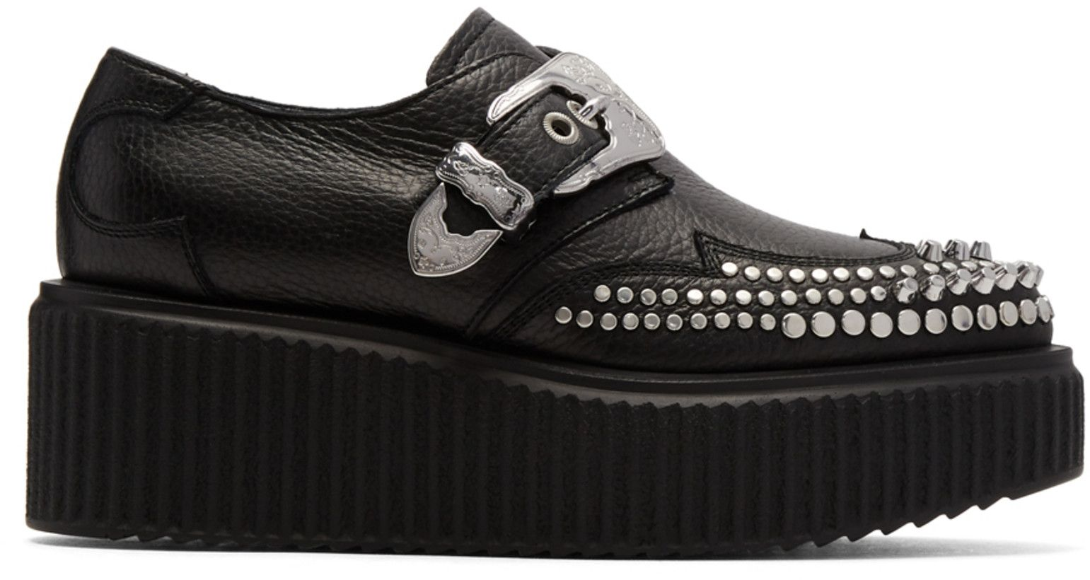 Alexander McQueen Nevada Creeper Monkstraps