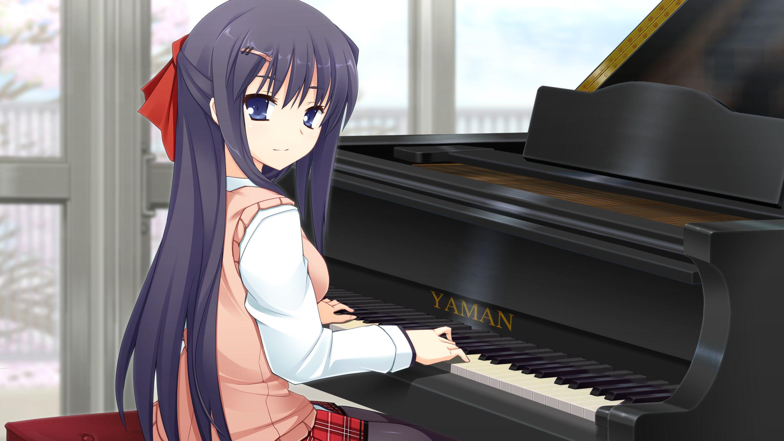 anime girl piano Tìm với Google I like manga, chibi