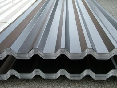 METAL ROOF AND WALL CLADDING BOX SECTION ROOF SHEETS
