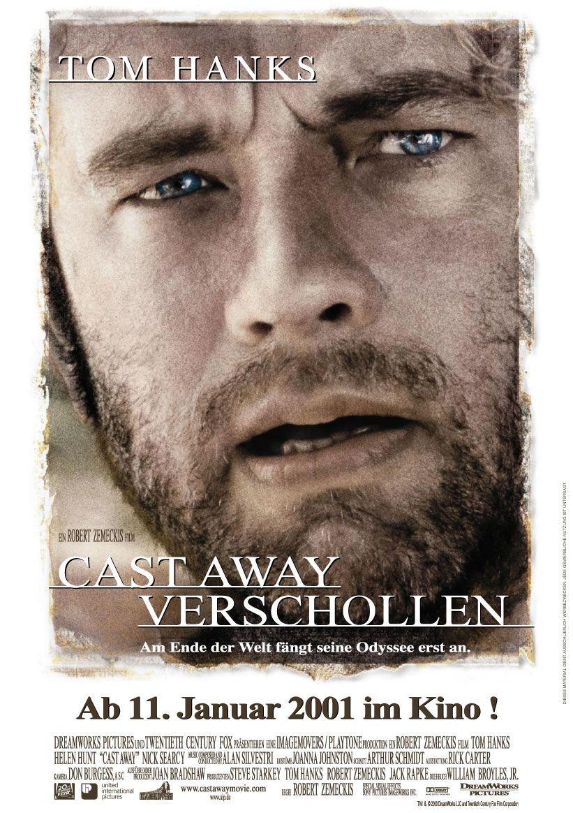 Filmplakat Verschollen 2000 Plakat 2 Von 2 Filmplakate Filme Tom Hanks