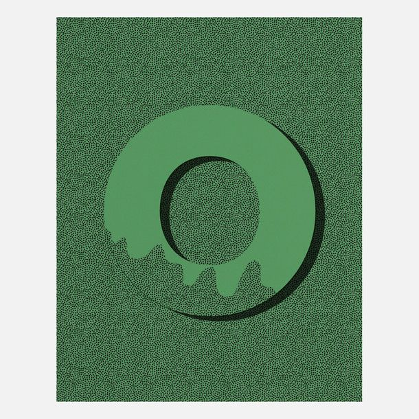 Letter O by  ModernPOP