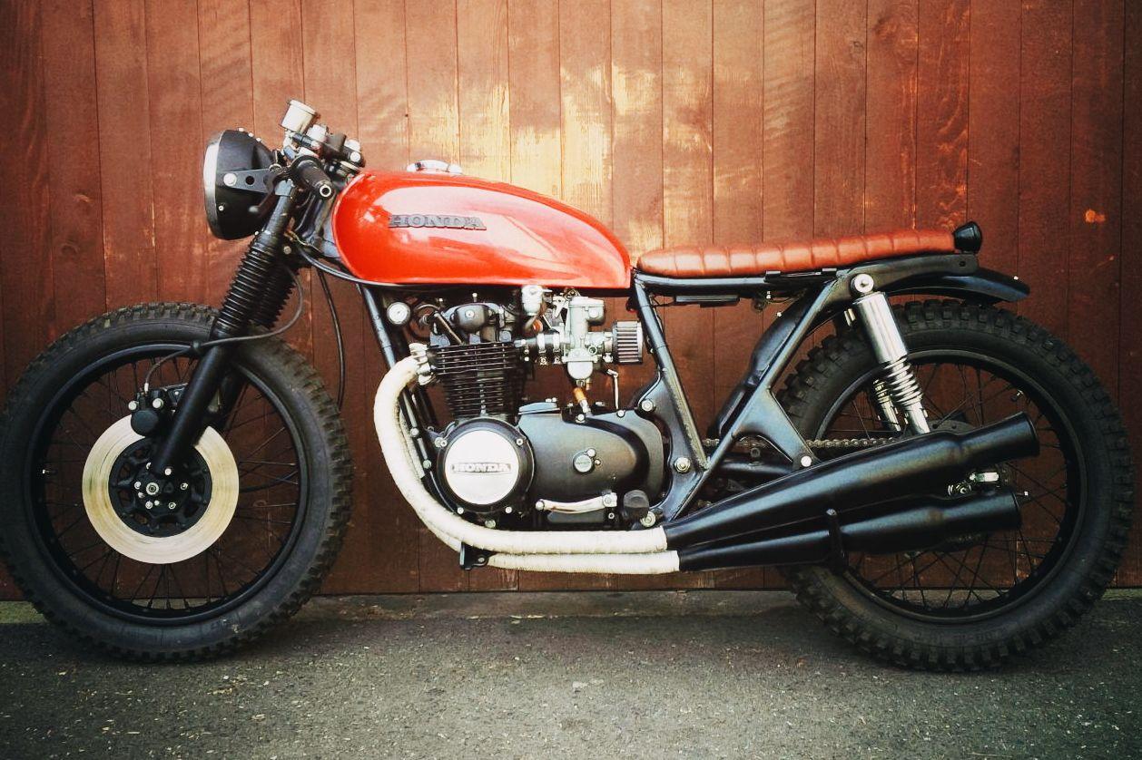 honda cb500 four 1974 cafe racer motorrad umbau custom. Black Bedroom Furniture Sets. Home Design Ideas