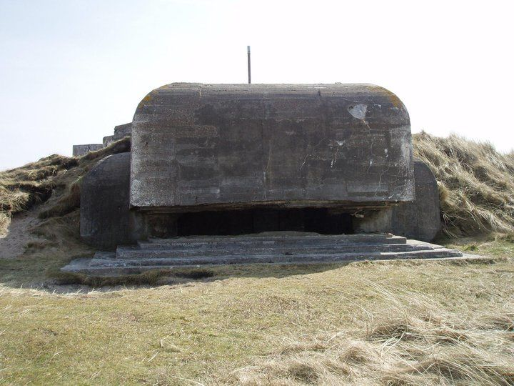 World War 2 bunker, Hanstholm, Denmark (three atempts to find the cache !! .... gave up :-) ....)