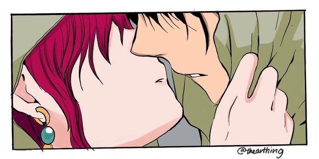 Akatsuki No Yona Chapter 137 Yona Kisses Hak Akatsuki No Yona Manga