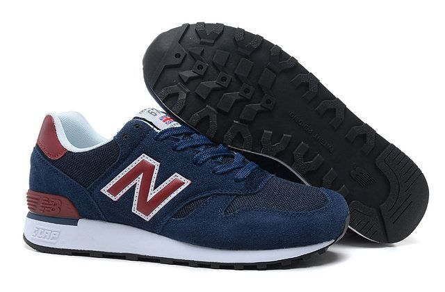 51acca1da15c4 Discount New Balance M670SNR NC Navy Red White Mens NB-670 Sneakers For  Males/Boys